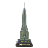 Chrysler Building w/ Wood Base