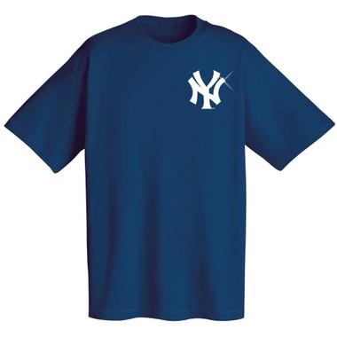 Navy New York Yankees T-Shirt Cotton