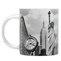 Landmark Black and White New York City Mug