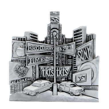 Silver Broadway Magnet