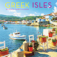 Greek Isles Wall Calendar