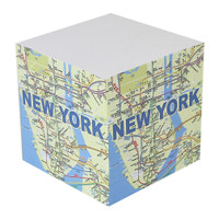 NYC Subway Paper Cube