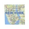 NYC Subway Paper Cube