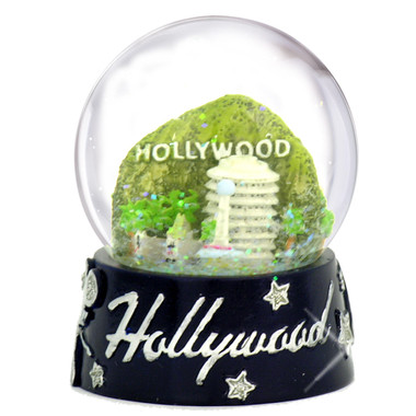 California Hollywood Snowglobe