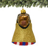 Philadelphia's Liberty Bell Christmas Ornament Glass