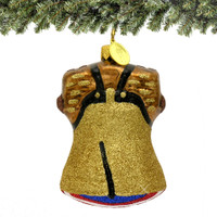 Philadelphia's Liberty Bell Christmas Ornament Glass