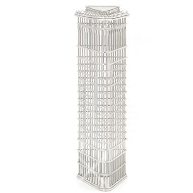 Flatiron Building Wire Model