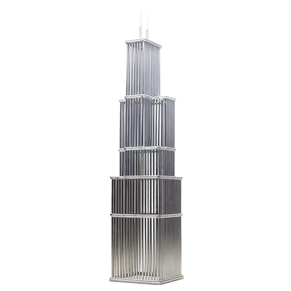 Willis Tower Formerly Sears Tower Wire Model