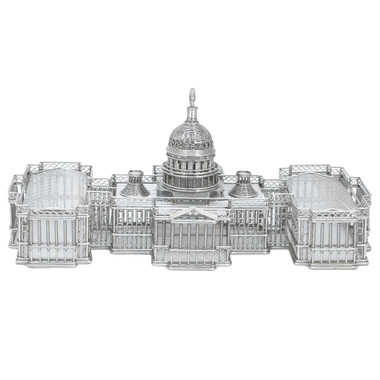 US Capitol Building wire models made of solid steel by Design Ideas Doodles travel series of architectural wonders