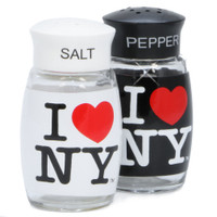 I Love NY Salt and Pepper Shaker Set