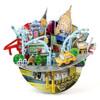 New York Cityscape 3D Puzzle Souvenir and Coin Bank