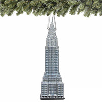 Noble Gems Chrysler Building Christmas Ornament