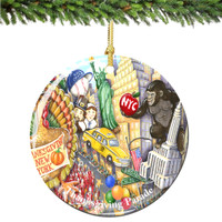 Chuck Fischer's Thanksgiving Day Parade Macy's Christmas Ornament