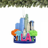Los Angeles Christmas Ornament