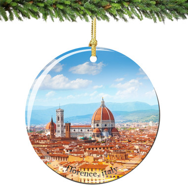 Florence Christmas Ornament