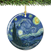 Van Gogh Christmas Ornament Starry Night Christmas Ornament