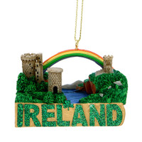 Ireland Landmarks Christmas Ornament