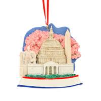Washington, DC Landmarks Ornament for Personalization