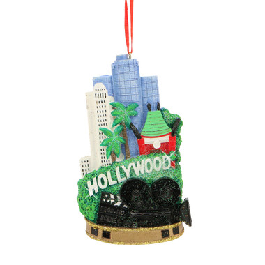 Hollywood Landmarks Ornament for Personalization