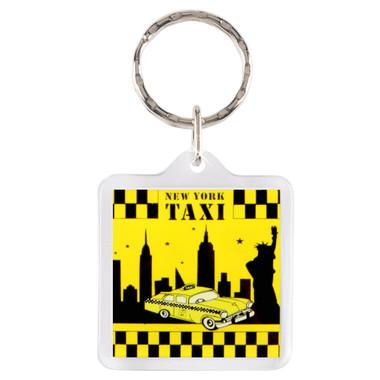 NYC Taxi Key Chain