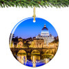 Vatican St Peters Christmas Ornament Porcelain