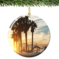 Golden Gate Bridge Christmas Ornament