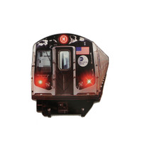 New York City Subway Car Acrylic Magnet