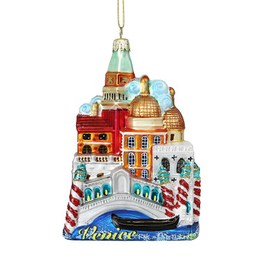 Noble Gems Glass Venice Ornament