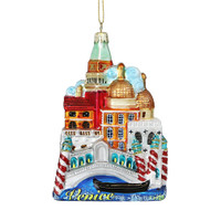 Noble Gems Glass Venice Ornament