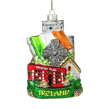 Noble Gems Glass Ireland Ornament