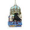 Noble Gems Glass Barcelona Ornament