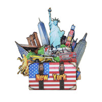 New York City Magnet 3D NYC Landmarks