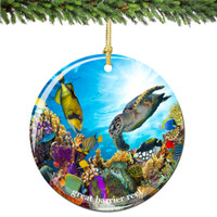 Coral Christmas Ornament of the Great Barrier Reef