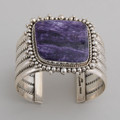 This Artie Yellowhorse Charoite bracelet speaks for itself. A real beauty!