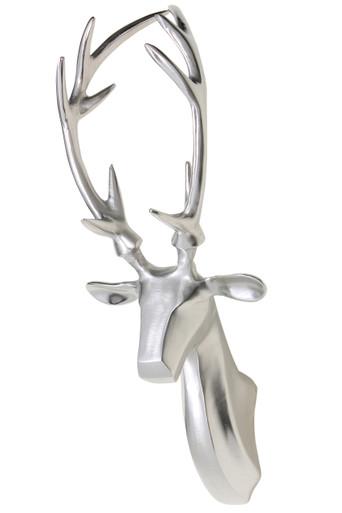 RENNES Wall Reindeer Sculpture