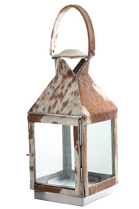 SAFARI Cowhide Lantern