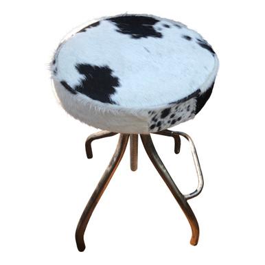 CERUS round extendable bar stool