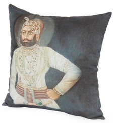 RAJA Photographic Embroidered Pillow