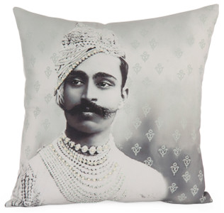 ROYAL Photographic Embroidered Pillow