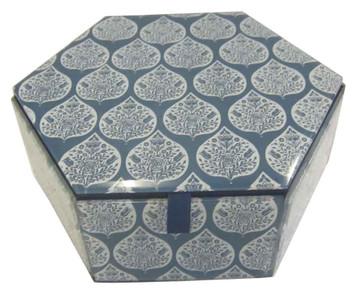 EVA BLUE HEX Jewelry box.