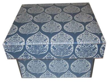 EVA BLUE LID Box.