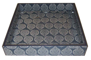 EVA BLUE TRAY Square