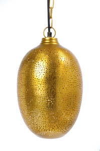 EGG Hanging Lamp Gold