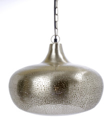 TAPPER Hanging Lamp Silver