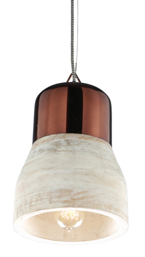 PRISMA Wood Hanging Lamp