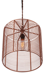 Copper Hanging Lamp LYS