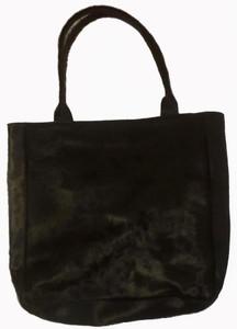 Luxurious Bag GRACE in Black Cowhide