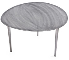 METALLICA Set of 3 metal nesting tables