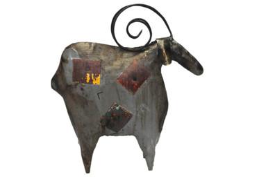 Schaf Oil Drum Sculpture