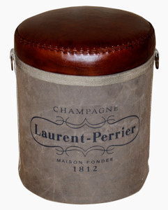 CAVA Stool with Champagne Logo